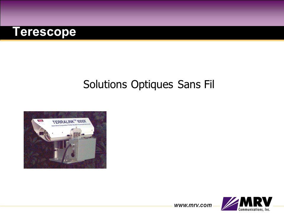 Terescope Solutions Optiques Sans Fil