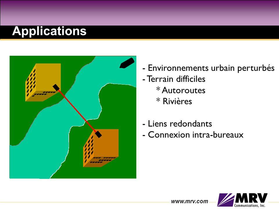 Applications - Environnements urbain perturbés - Terrain difficiles