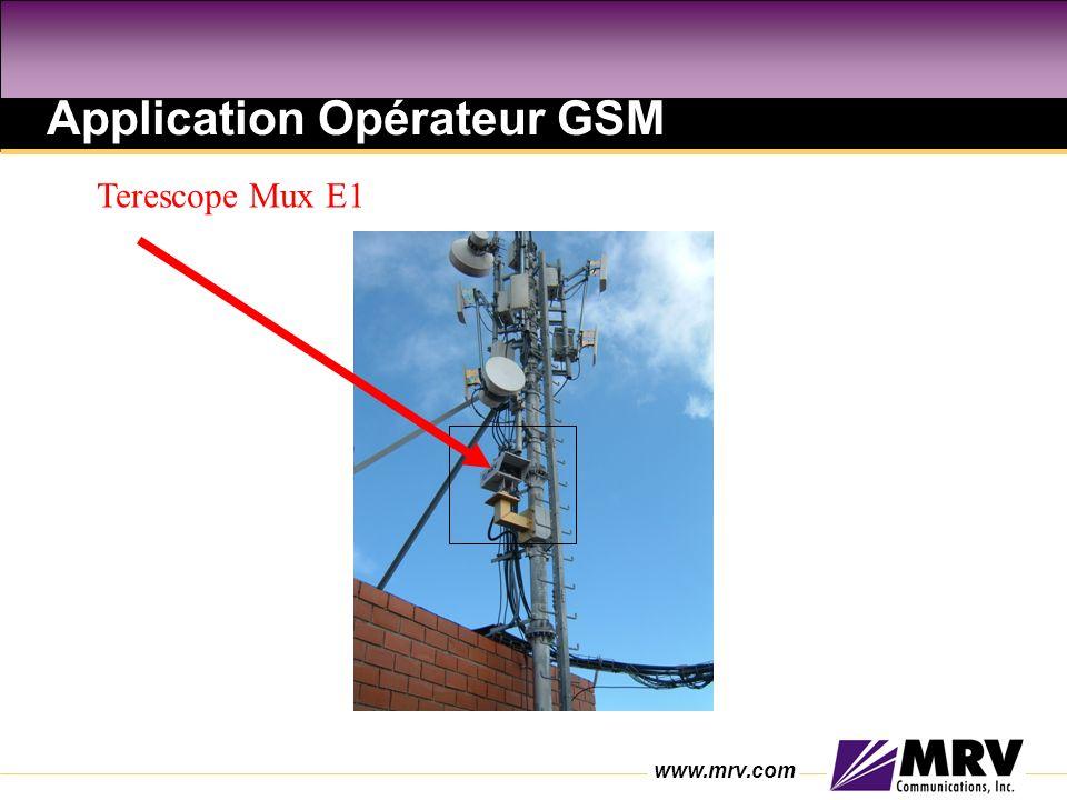 Application Opérateur GSM