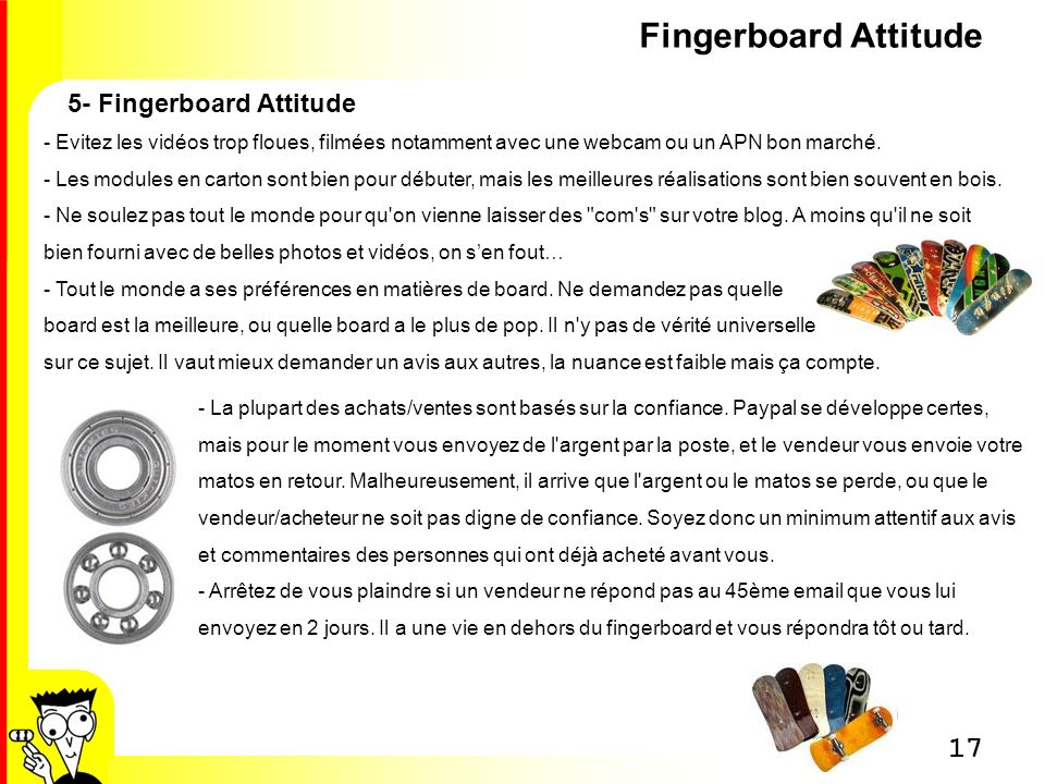 Fingerboard Attitude 5- Fingerboard Attitude