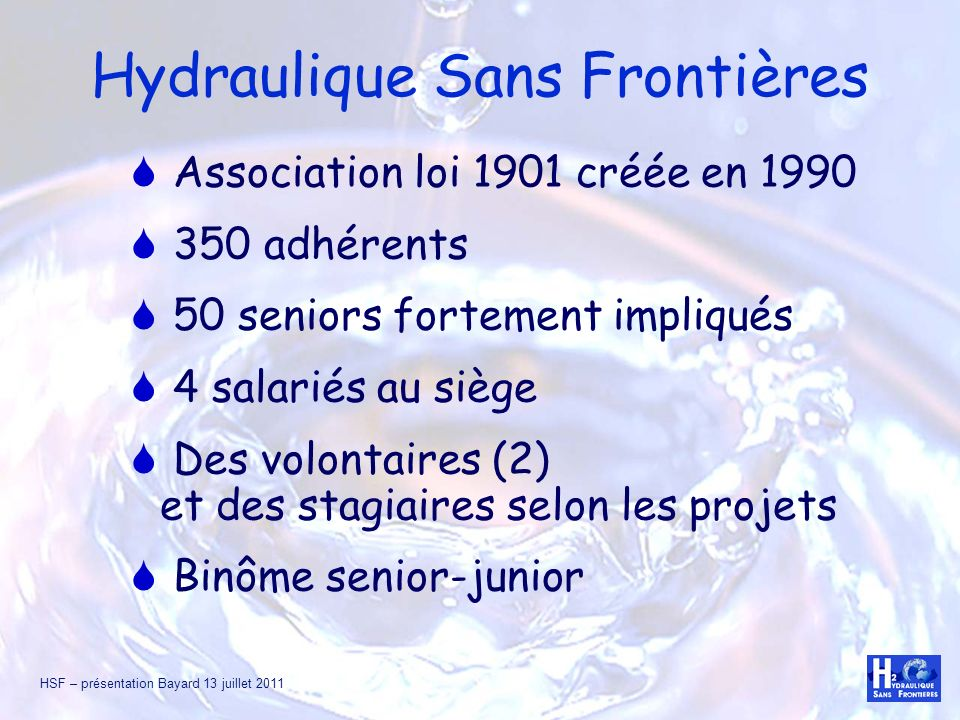 Hydraulique Sans Frontières
