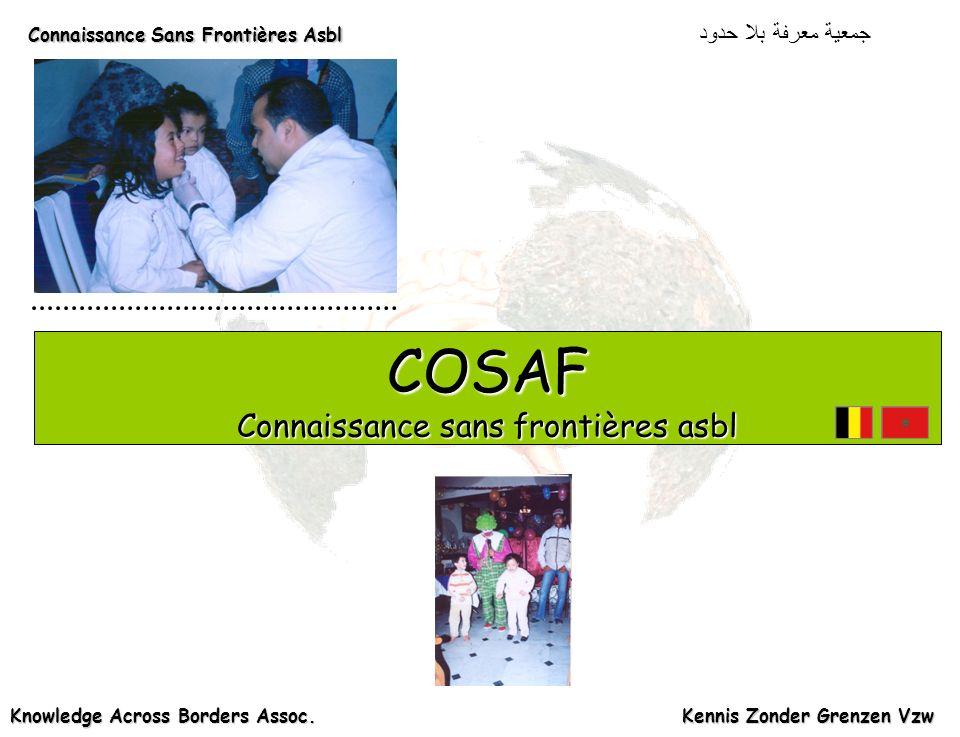 COSAF Connaissance sans frontières asbl