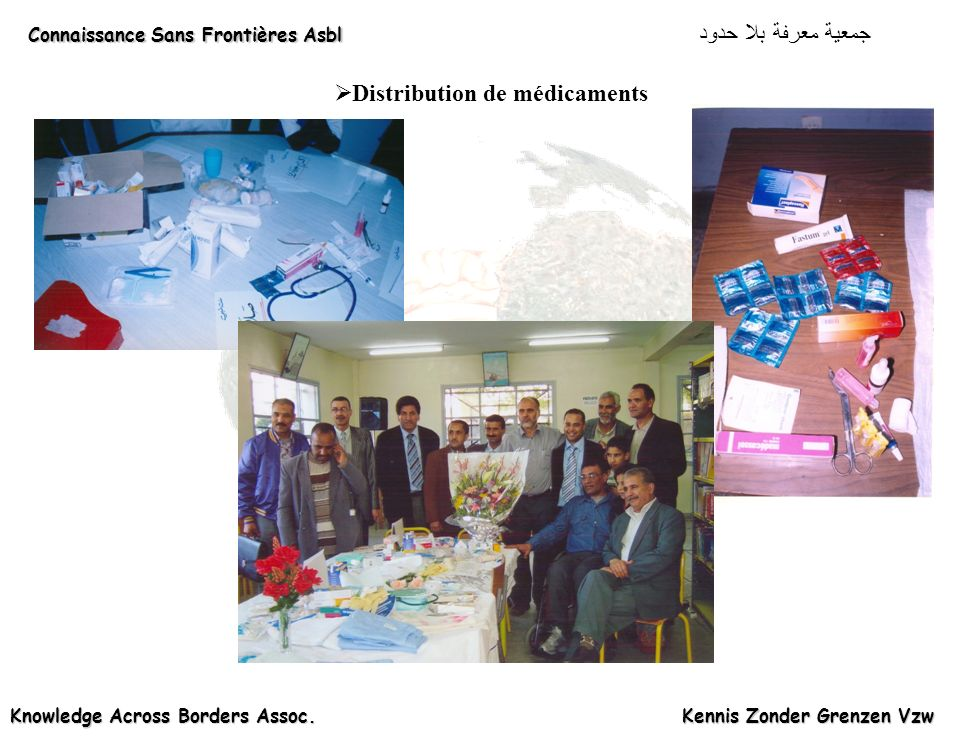 Distribution de médicaments