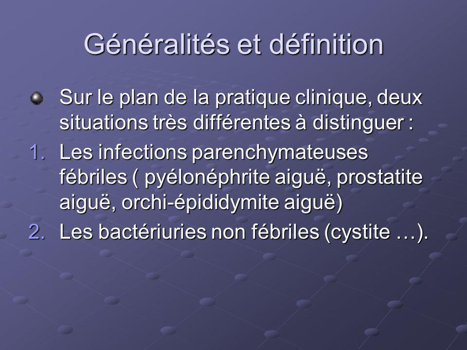 Généralités et définition