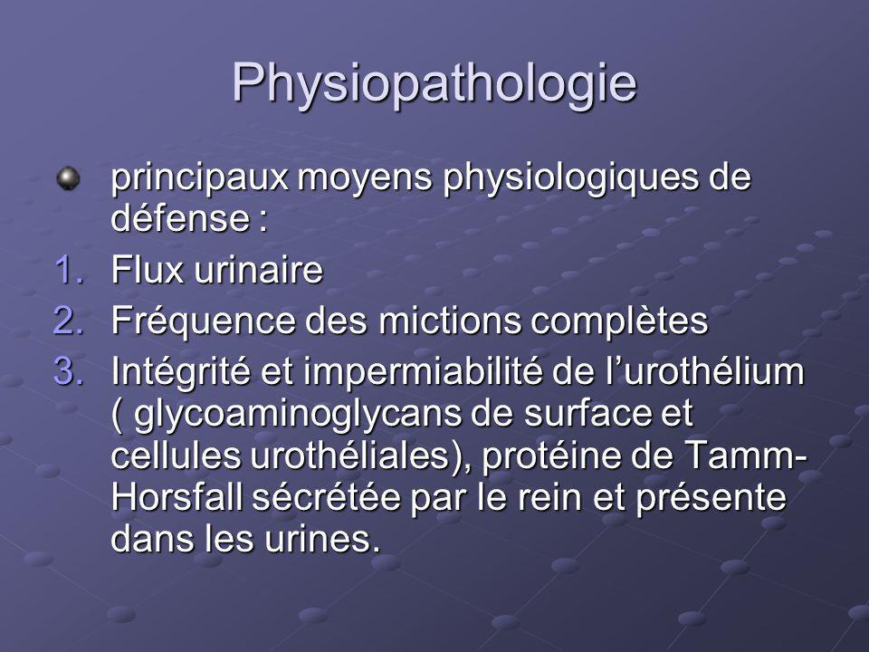 Physiopathologie principaux moyens physiologiques de défense :