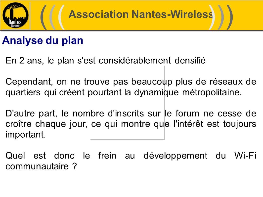 ((( ))) Association Nantes-Wireless Analyse du plan