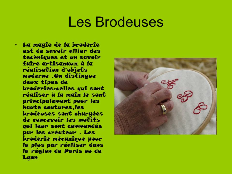 Les Brodeuses
