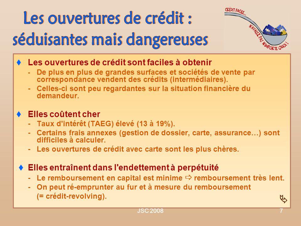 Les ouvertures de crédit : séduisantes mais dangereuses