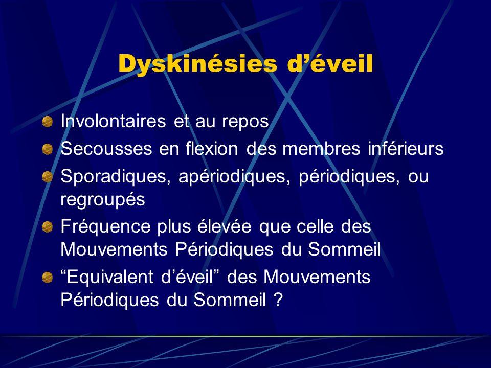 Dyskinésies d'éveil Involontaires et au repos