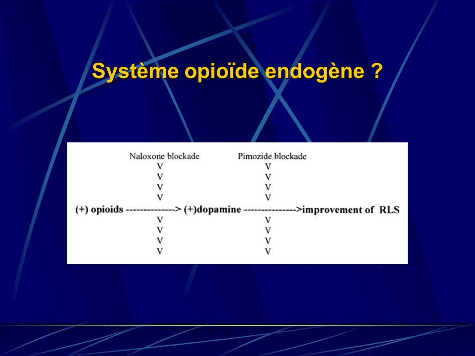 Système opioïde endogène