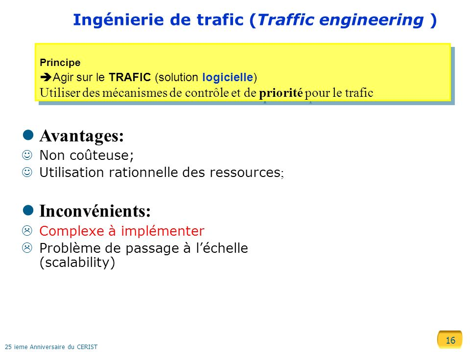 Ingénierie de trafic (Traffic engineering )