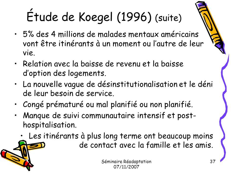 Étude de Koegel (1996) (suite)