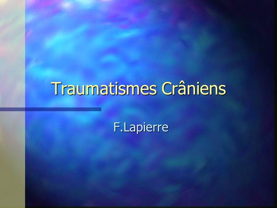 Traumatismes Crâniens