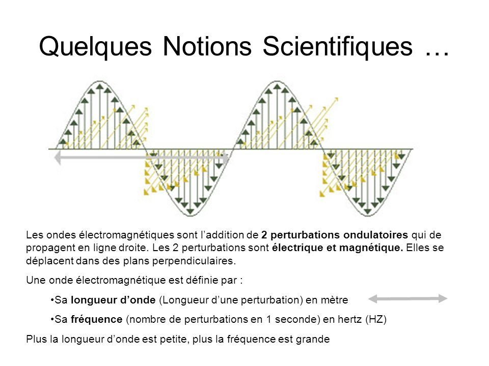 Quelques Notions Scientifiques …