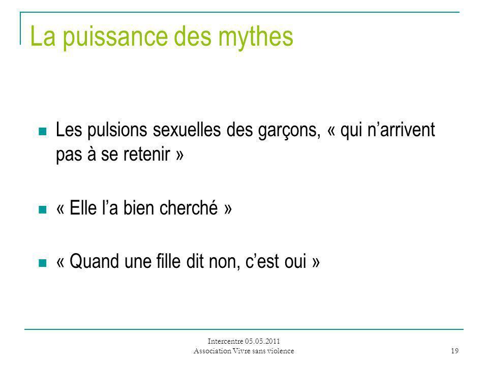 La puissance des mythes