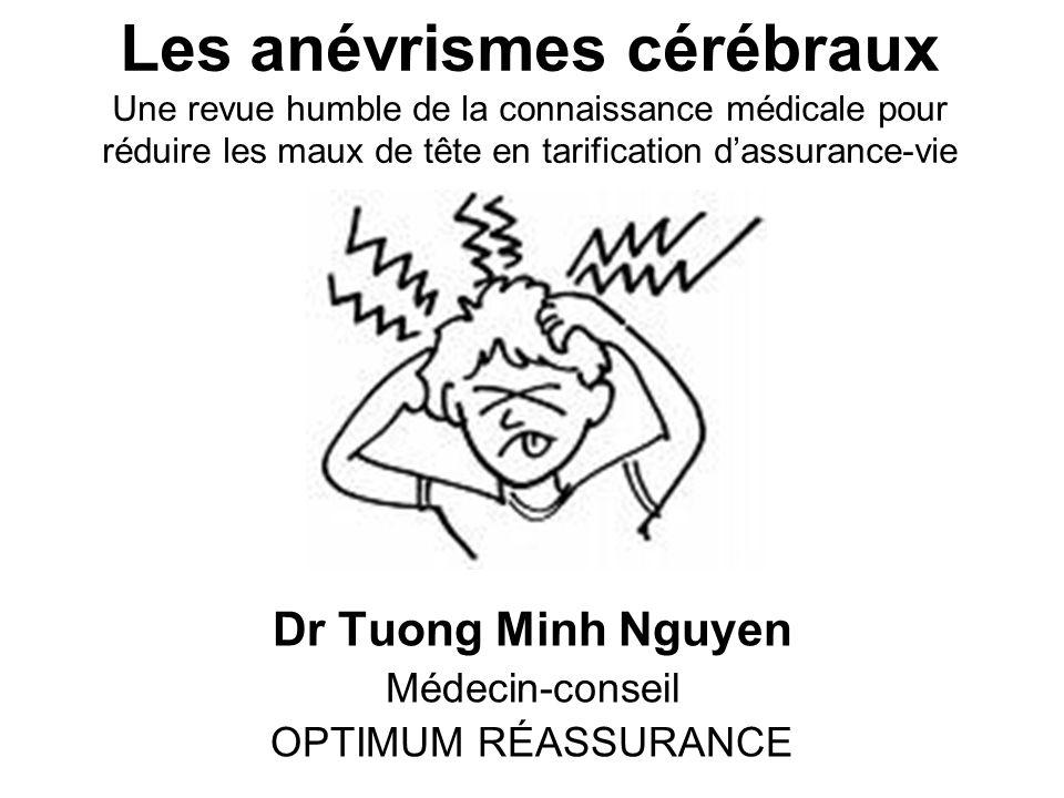 Dr Tuong Minh Nguyen Médecin-conseil OPTIMUM RÉASSURANCE