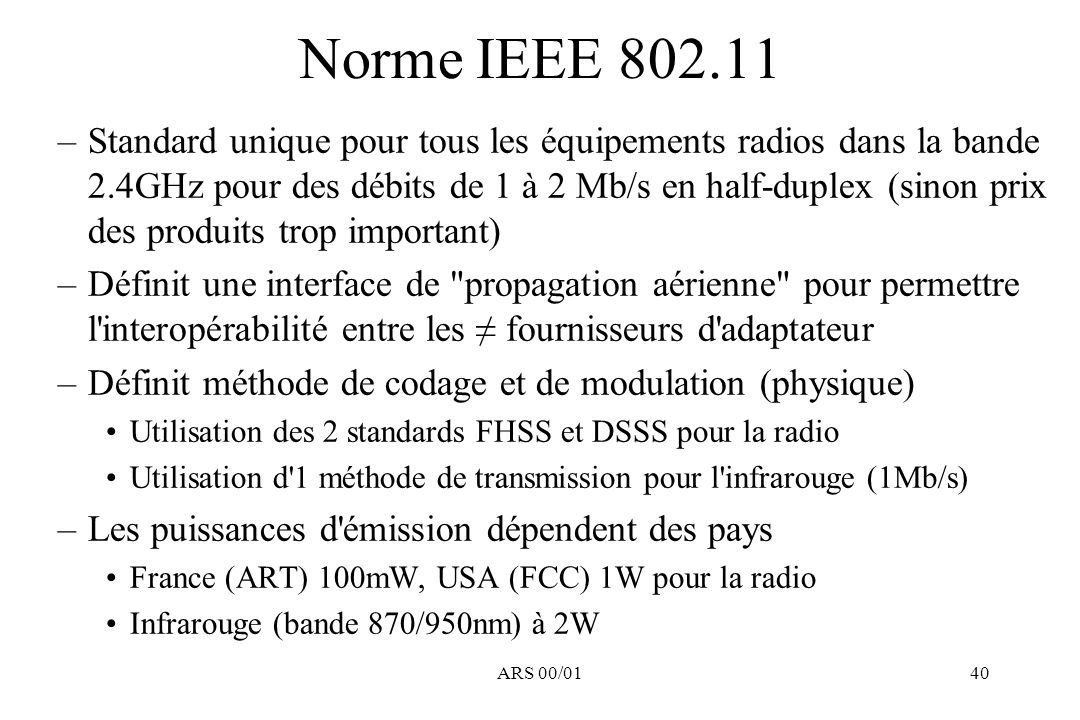 Norme IEEE 802.11