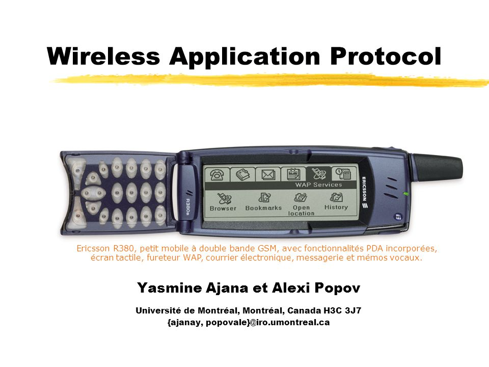Wireless Application Protocol