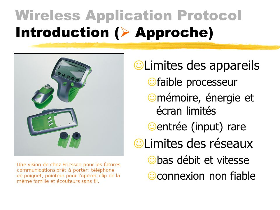 Wireless Application Protocol Introduction ( Approche)