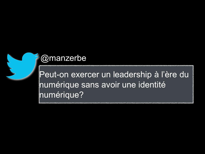 @manzerbe Peut-on exercer un leadership à l'ère du numérique sans avoir une identité numérique
