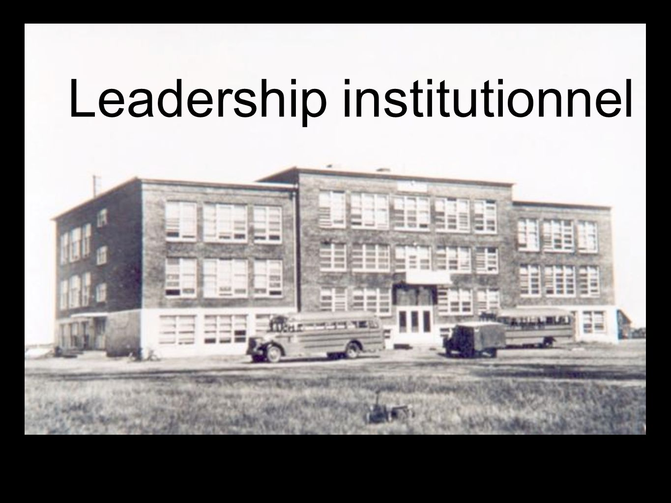 Leadership institutionnel