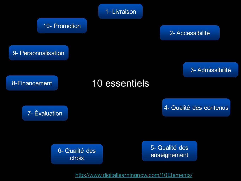5- Qualité des enseignement