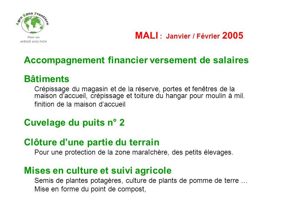 MALI : Janvier / Février 2005