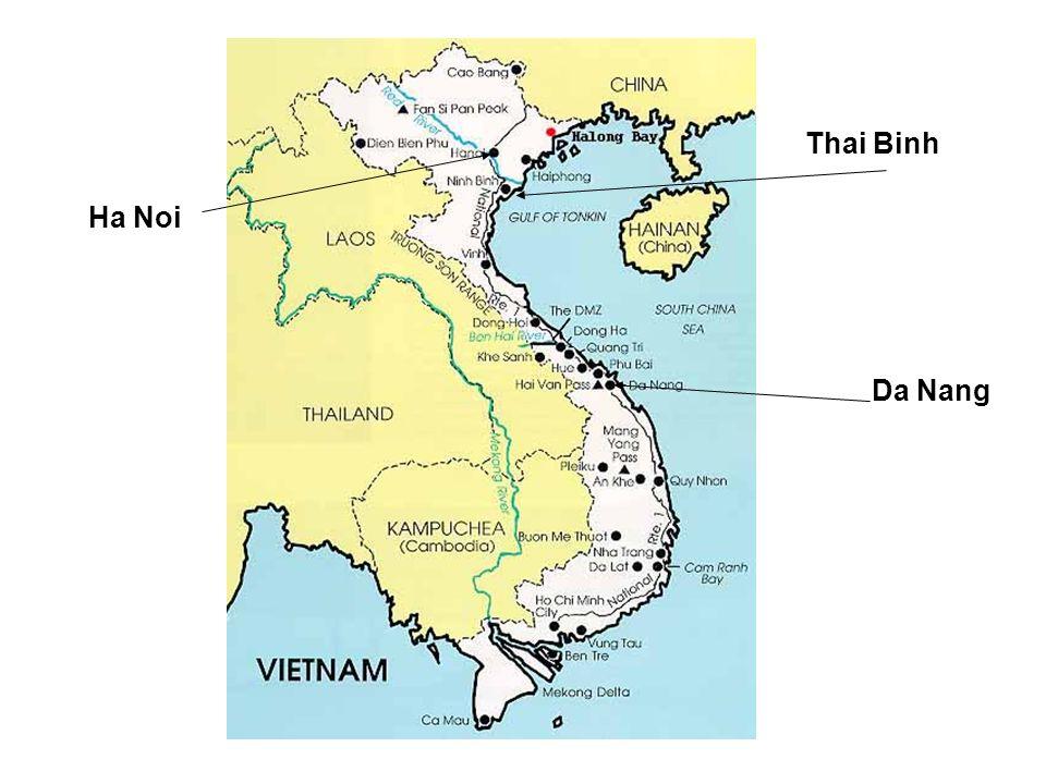 Thai Binh Ha Noi Da Nang