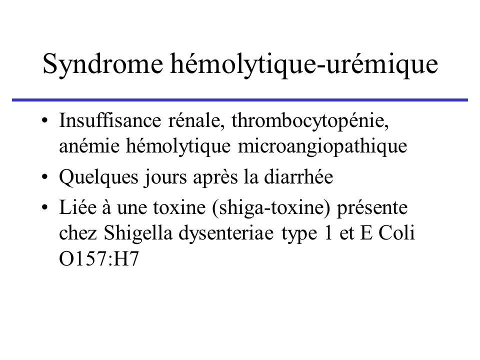 Syndrome hémolytique-urémique