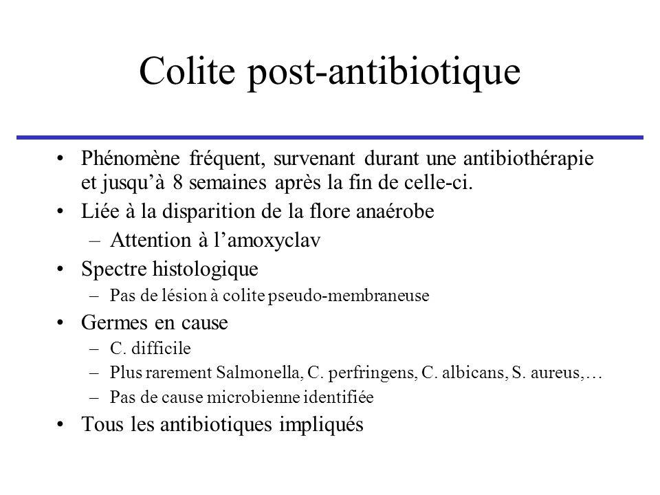 Colite post-antibiotique