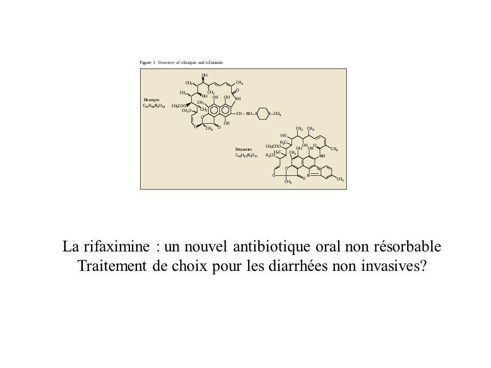 La rifaximine : un nouvel antibiotique oral non résorbable