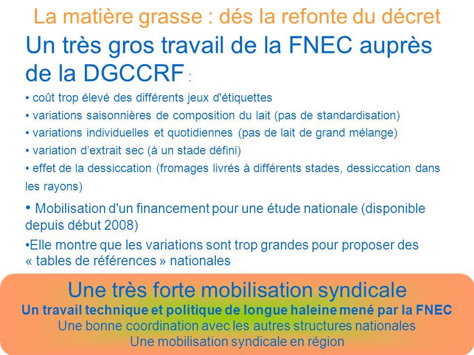 Un travail technique et politique de longue haleine mené par la FNEC