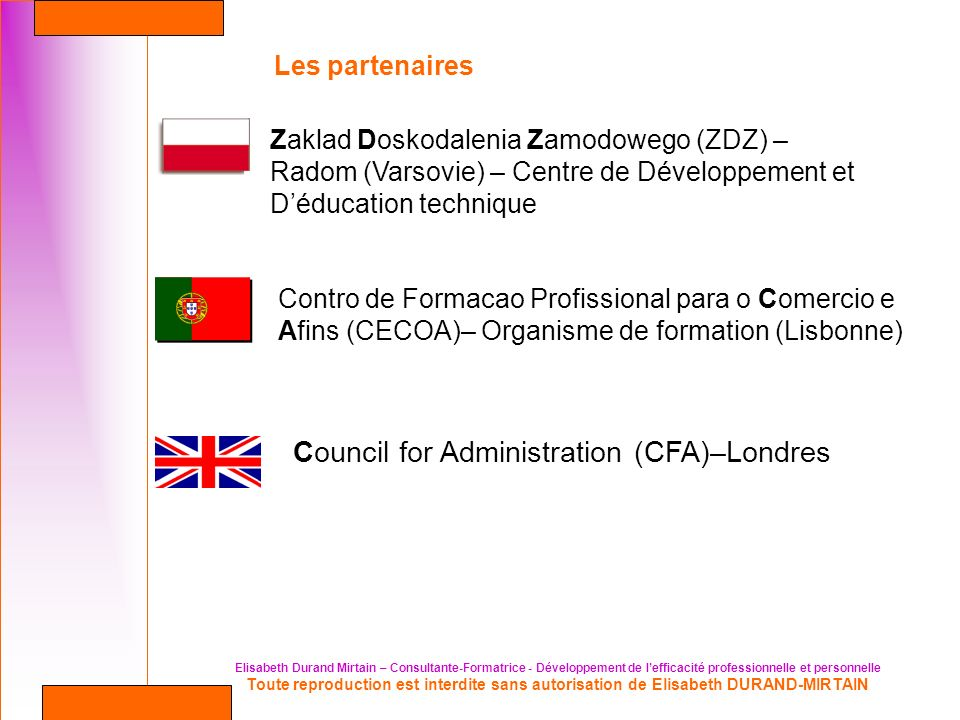 Council for Administration (CFA)–Londres