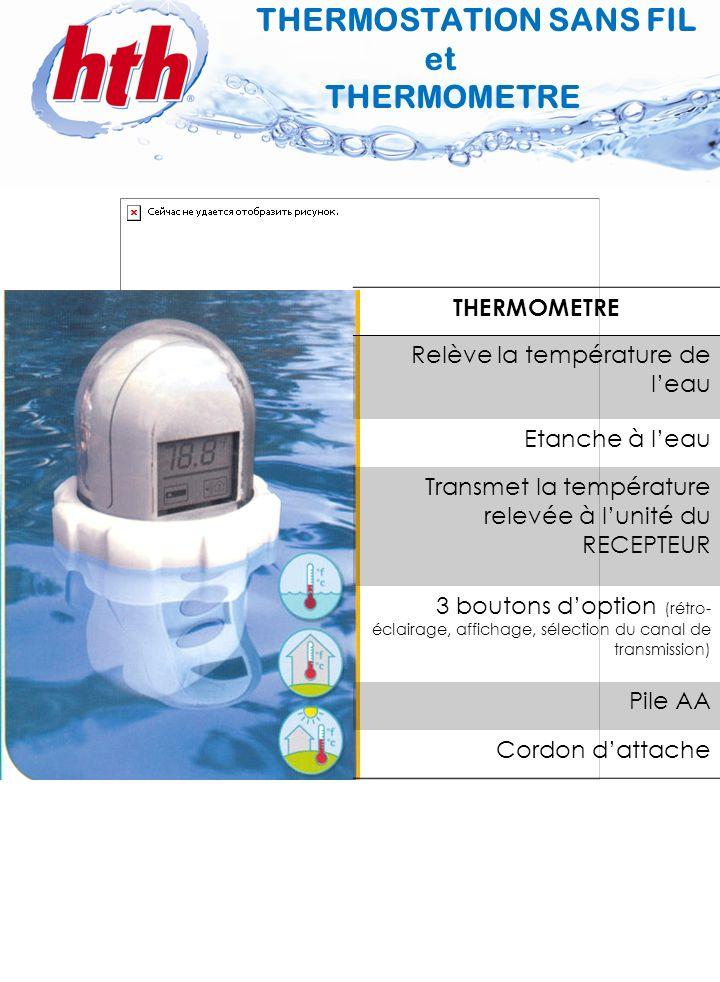 THERMOSTATION SANS FIL et THERMOMETRE