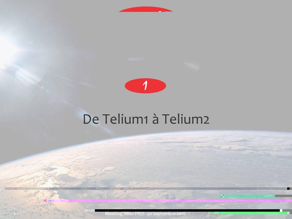 1 De Telium1 à Telium2.