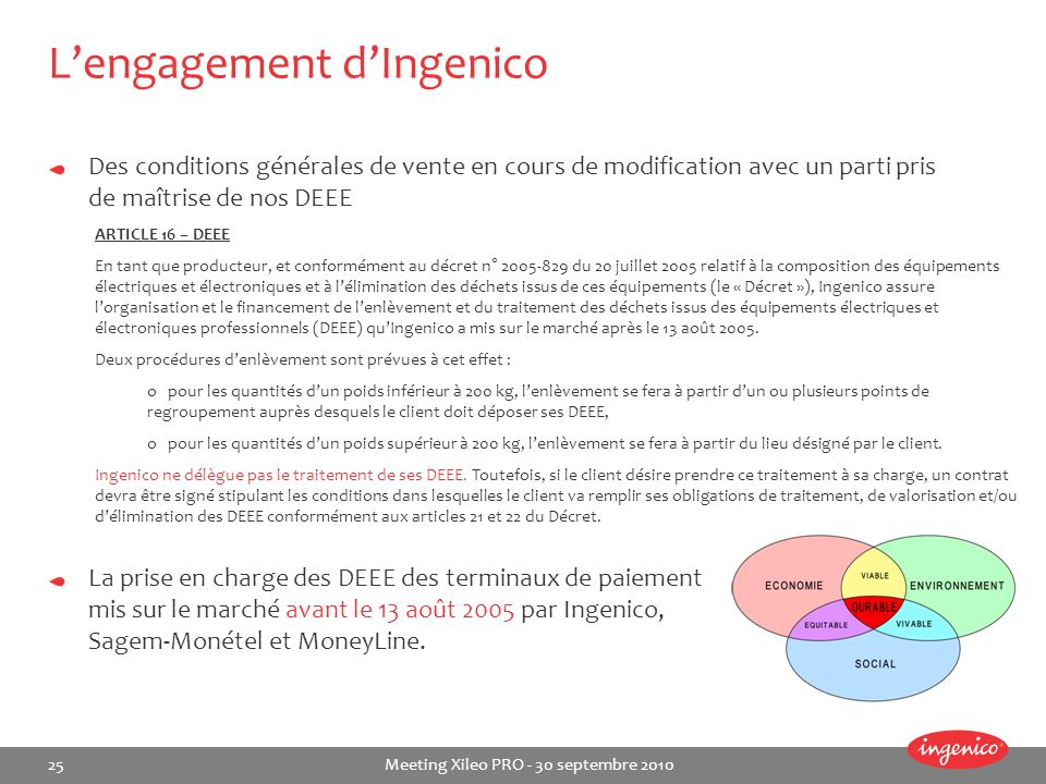 L'engagement d'Ingenico
