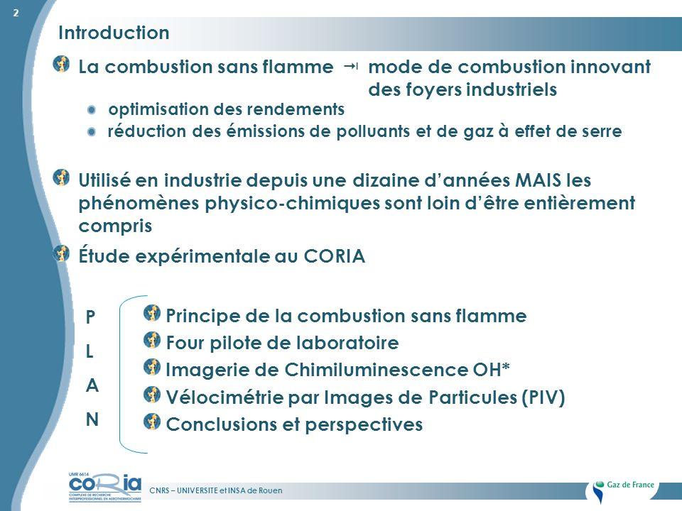 La combustion sans flamme