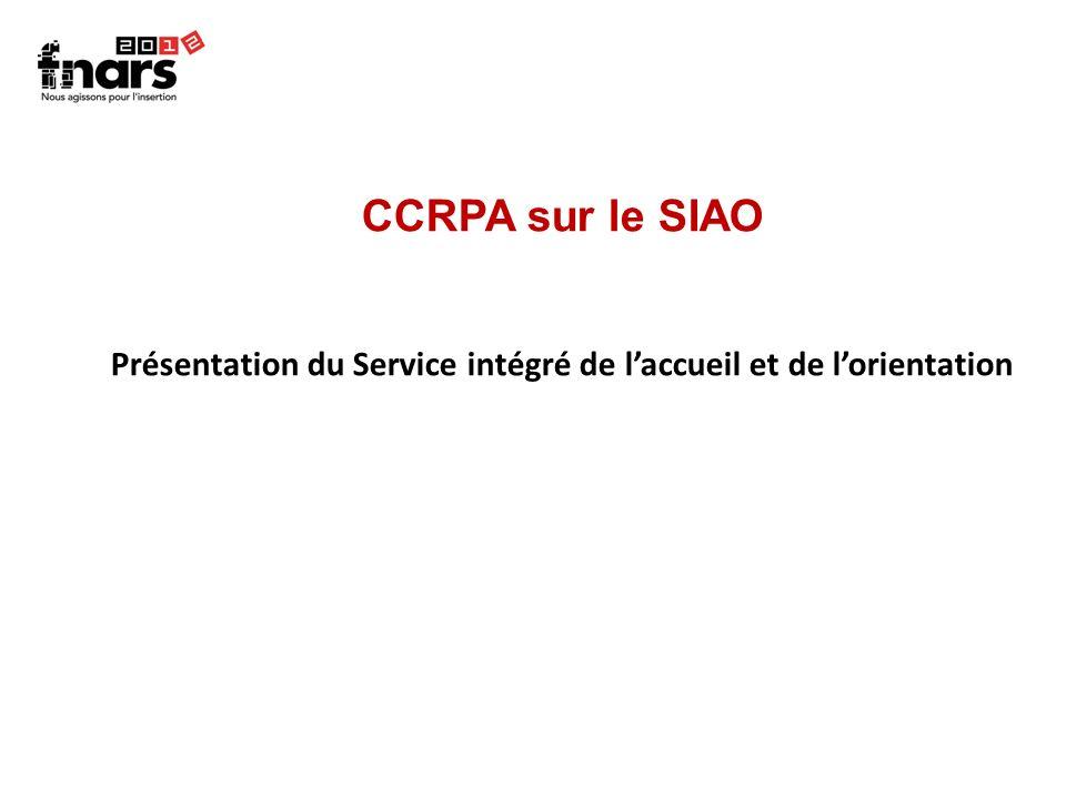 Présentation du Service intégré de l'accueil et de l'orientation