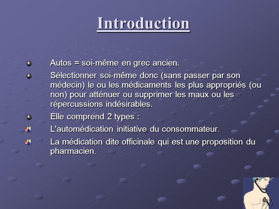 Introduction Autos = soi-même en grec ancien.