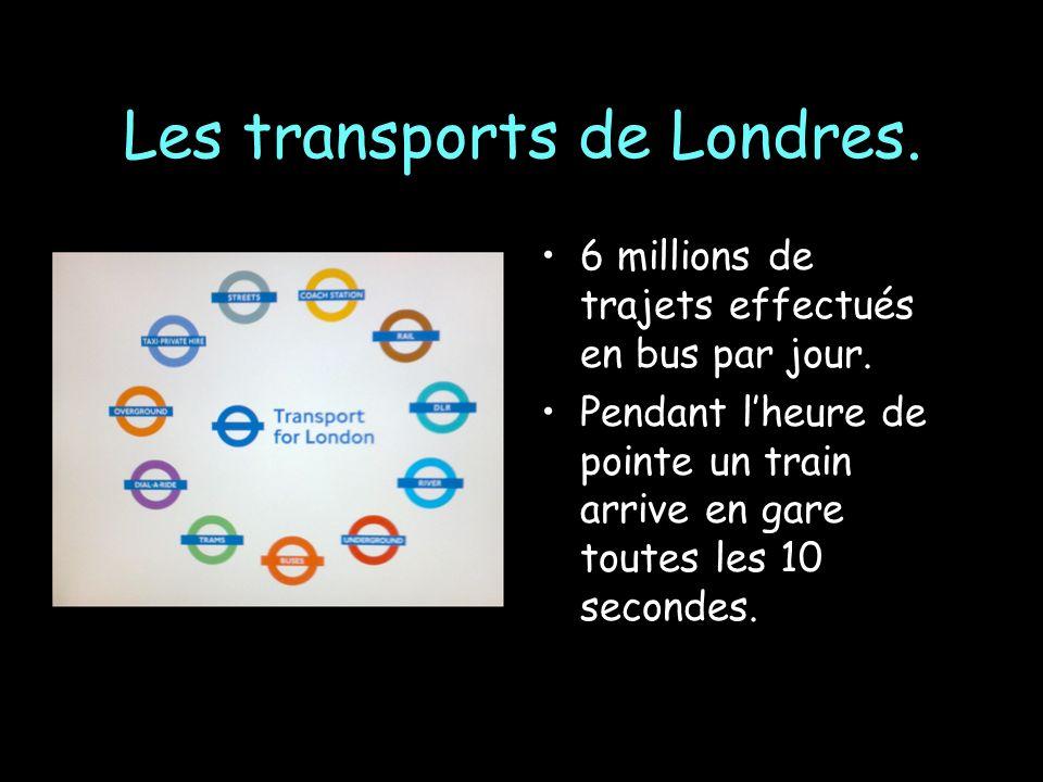 Les transports de Londres.