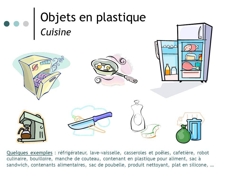 Objets en plastique Cuisine