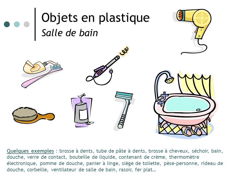 Objets en plastique Salle de bain