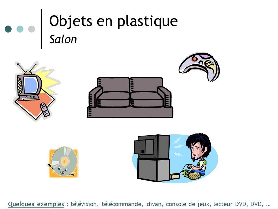 Objets en plastique Salon
