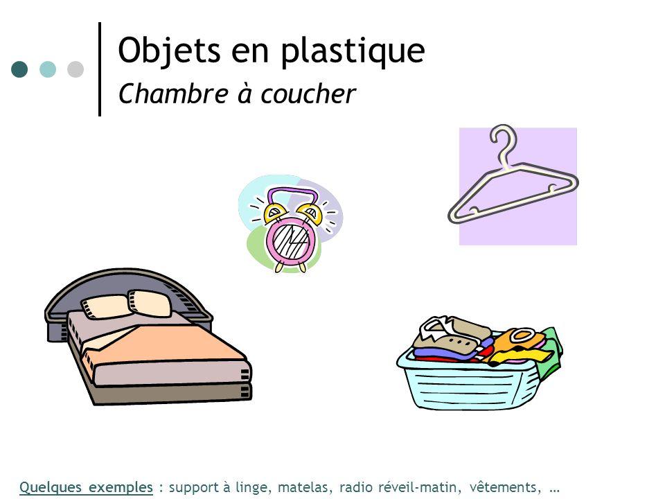 Objets en plastique Chambre à coucher