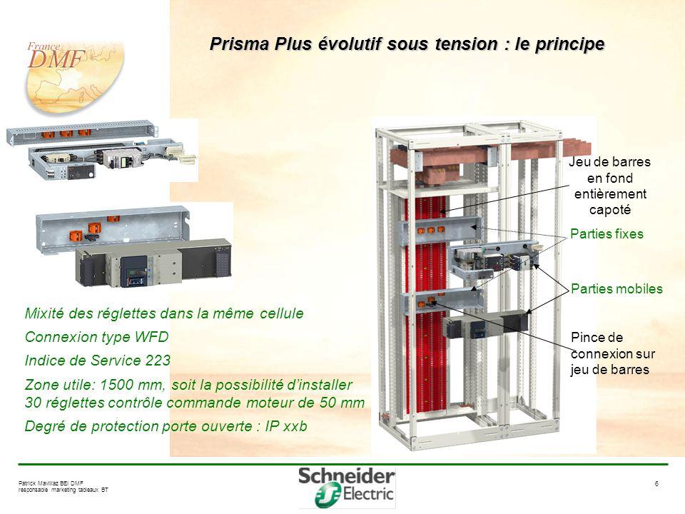 Prisma Plus évolutif sous tension : le principe