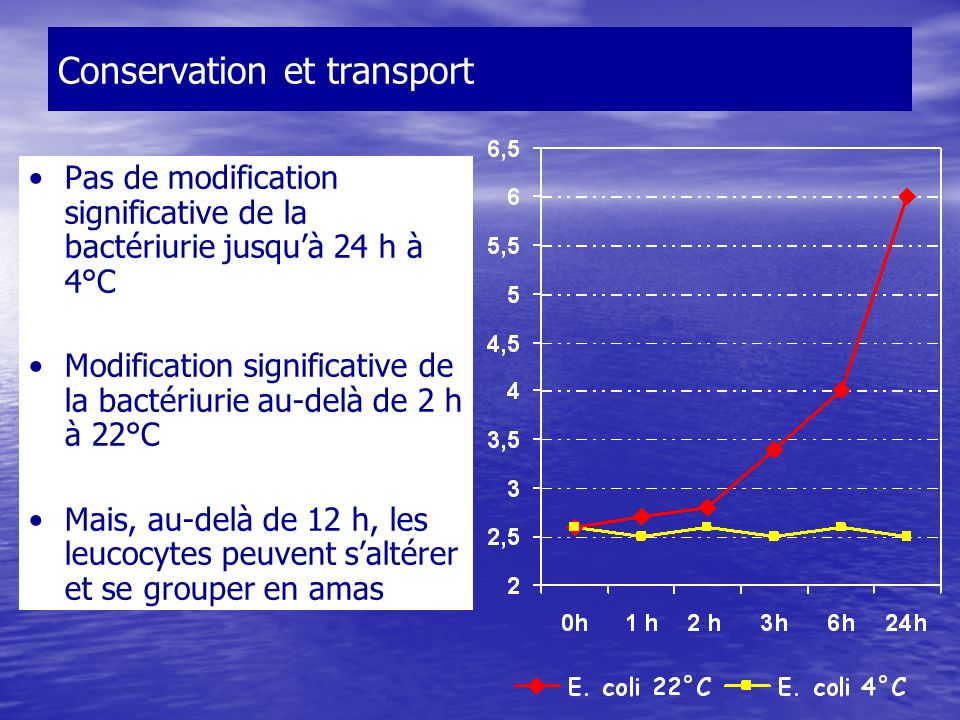 Conservation et transport