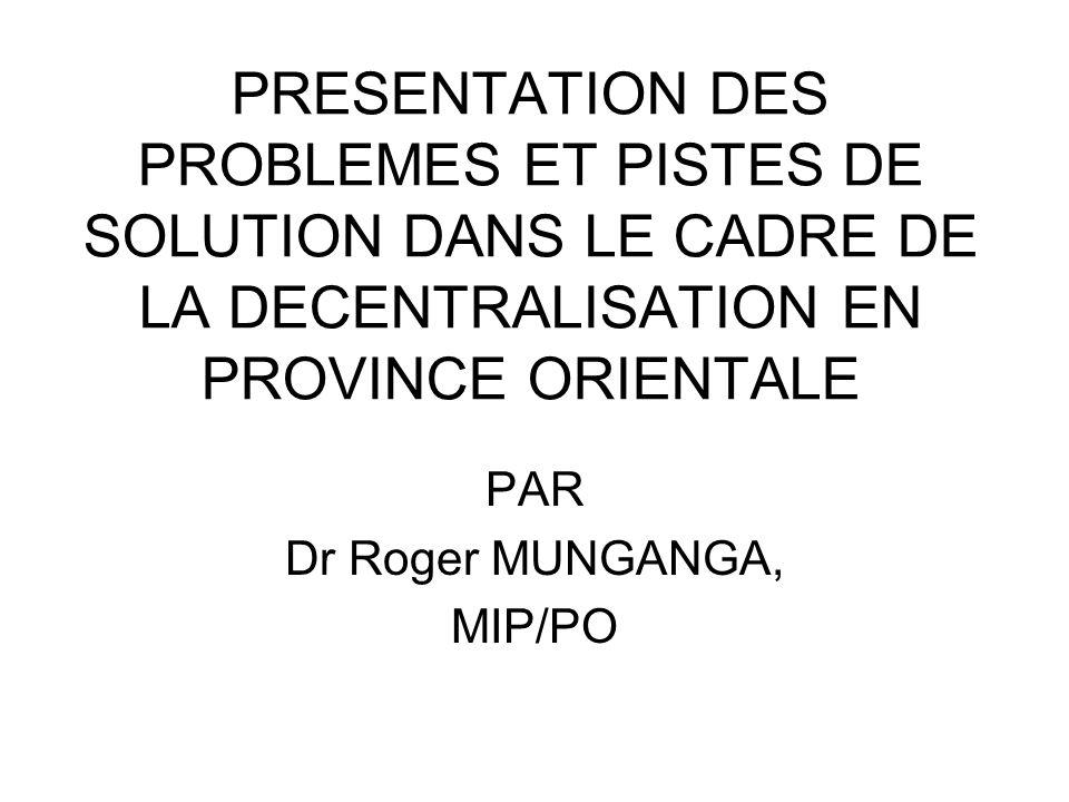 PAR Dr Roger MUNGANGA, MIP/PO