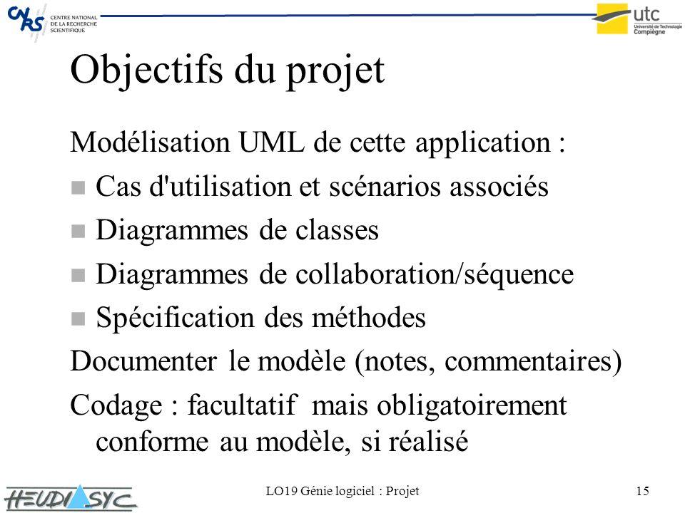 LO19 Génie logiciel : Projet