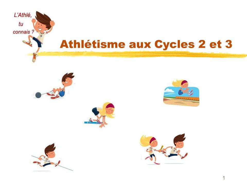 Athlétisme aux Cycles 2 et 3