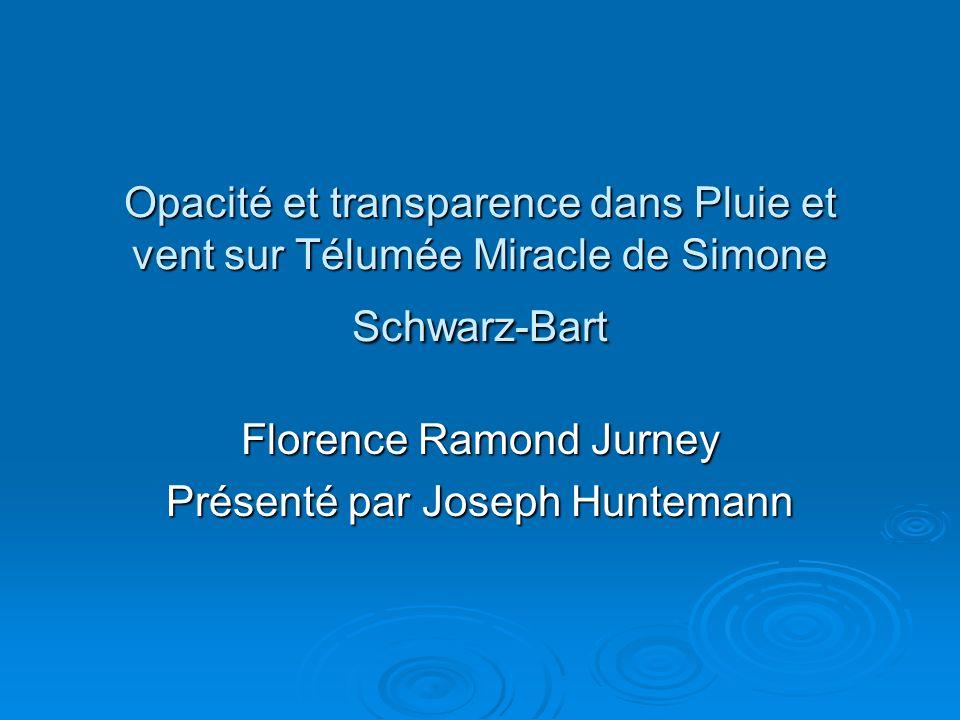 Florence Ramond Jurney Présenté par Joseph Huntemann
